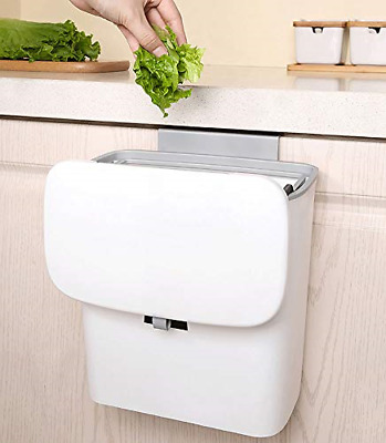 £29.81 • Buy XINING Hanging Trash Can With Sliding Cover Built-in Bin Waste Bin For Kitchen