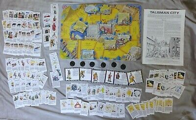 £49.99 • Buy Talisman The City 1989 Expansion For 2nd Edition 100% Complete Unboxed