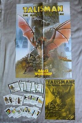 £34.99 • Buy Talisman The Expansion For 2nd Edition 1986 100% Complete W/ Rare Poster Unboxed