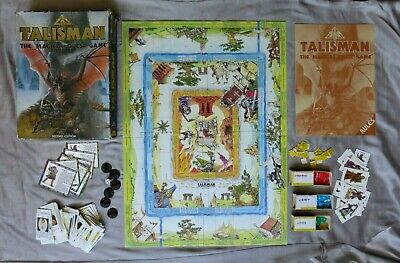 £32.99 • Buy Talisman 2nd Edition Board Game From Games Workshop 1985 Boxed And 99% Complete
