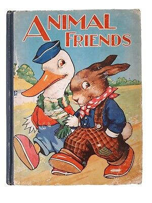 £55 • Buy Animal Friends, Illustrated Childrens Book, Margaret W. Tarrant, Birn Brothers