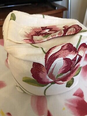 £1.50 • Buy Door Stop Stopper Wedge Floral  Fabric - Case Only Needs Filling
