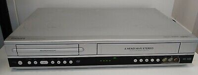 £49.99 • Buy Philips DVP3055V DVD / VHS Combo Player Working Condition With Remote