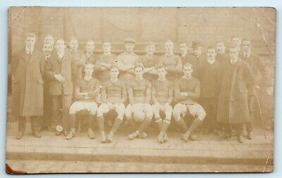 £6 • Buy Postcard Football Team Unidentified Real Photograph