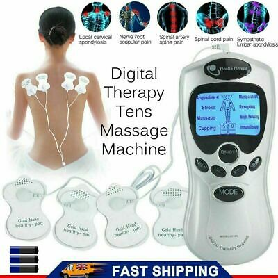 £7.30 • Buy Tens Electrical Nerve Stimulation Physiotherapy Pulse Digital Massage Machine