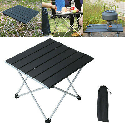 £16.99 • Buy Folding Camping Table Lightweight Outdoor Aluminium Frame Fishing Hiking Table