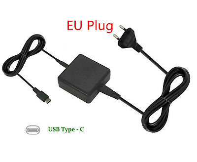 £12.99 • Buy EU Plug For Asus Transformer 3 Pro T303UA USB-C 45W Laptop AC Adapter Charger