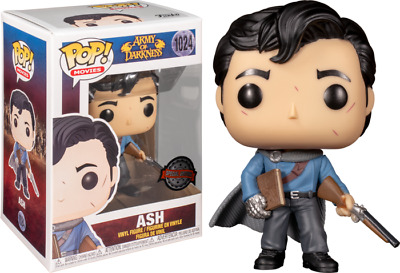 AU29.42 • Buy ASH With Necronomicon Army Of Darkness Overwatch Funko Pop Vinyl New In Box
