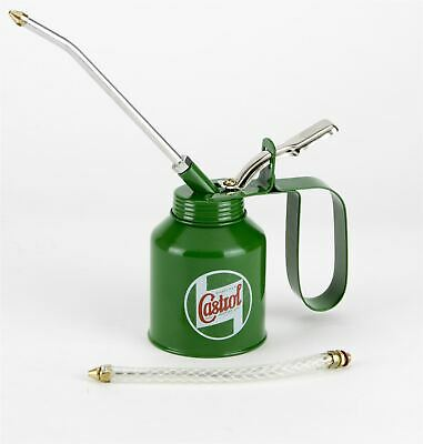 £9.95 • Buy Genuine Castrol Classic Oil 200mL Vintage Oil Can Lever Pump