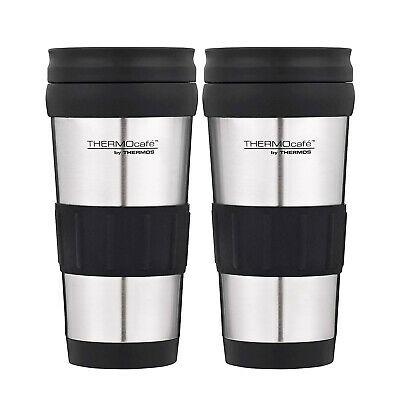 AU27 • Buy Thermos Genuine Stainless Steel 2pc Vacuum Insulated Tumbler Mug 420ml Flask Cup