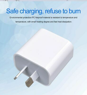 AU14.89 • Buy PD USB Type C Fast Wall Charger Power Adapter AU Plug IPhone 12 IPad Samsung Aus