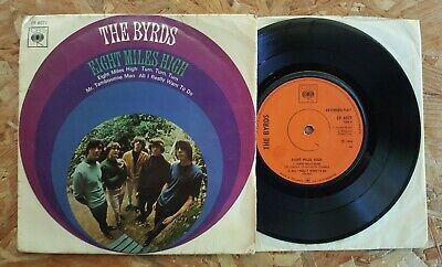 £10 • Buy The Byrds Eight Miles High Vinyl EP CBS EP6077 1st UK Picture Sleeve 1966