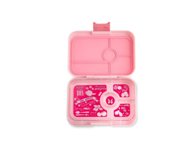 AU67.99 • Buy Stylish Yumbox Lunch Box Food Container Tapas 4 Compartment Amalfi Light Pink