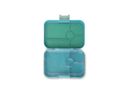AU67.99 • Buy Yumbox Lunch Box Food Container Storage Tapas 4 Compartment Antibes - Light Blue