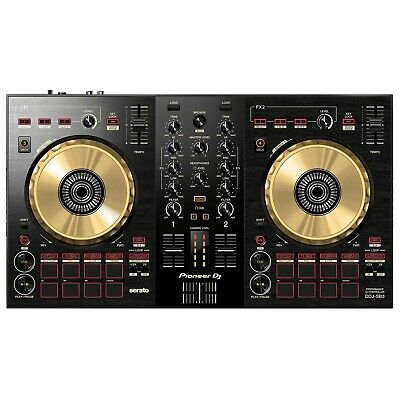 View Details Pioneer DDJ-SB3-N Limited Edition Gold 2 Channel Serato Software DJ Controller • 269$