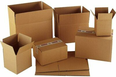 £5.95 • Buy CARDBOARD PACKING REMOVAL BOXES For Moving Postal Shipping Storage Box 45cm 91cm