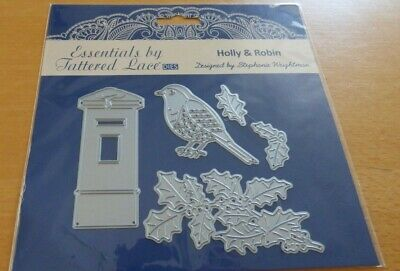£14 • Buy Tattered Lace Holly & Robin  Dies  - New & Sealed