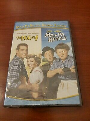 $13.95 • Buy New Sealed Ma Pa Kettle Double Feature: The Egg And I Ma Pa Kettle (DVD, 2015)