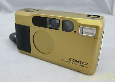 $ CDN1821.12 • Buy Contax T2 35mm Conpact Film Camera Gold Color Working