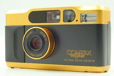 $ CDN1785.38 • Buy *Read! Near Mint* CONTAX T2 60th Years 60th Gold Limited Edition From JAPAN