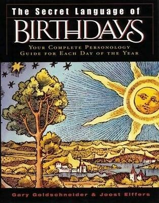 £27.56 • Buy The Secret Language Of Birthdays: Your Complete Personology Guide For Each Day O