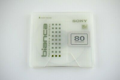 $8 • Buy Sony Md Disk  Bianca Recordable Minidisk 80 Minutes Audio Media No Test 21060301