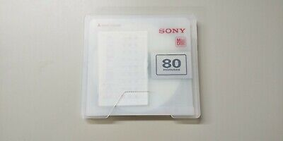 $8 • Buy Sony Md Disk  Bianca Recordable Minidisk 80 Minutes Audio Media No Test 21060302