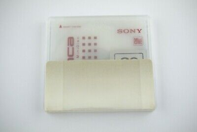 $8 • Buy Sony Md Disk  Bianca Recordable Minidisk 80 Minutes Audio Media No Test 21060304