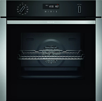 £495 • Buy Neff B2ACH7HH0B Pyrolitic Built-In Single Oven - Stainless Steel #25521605