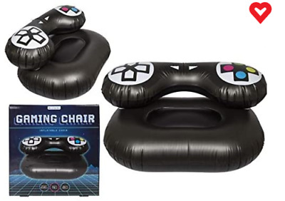 £14.99 • Buy Inflatable Gaming Chair Single Blow Up Seat Gamer Chair
