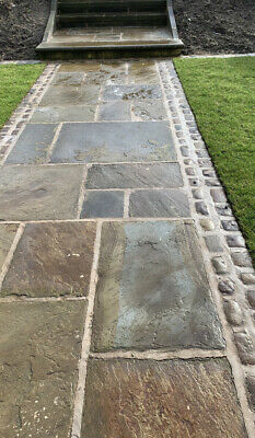 £50 • Buy Reclaimed York Stone Paving Slabs /flags  From£50-£75asqyd(thestonedealerdirect)
