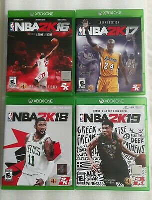 $ CDN24.28 • Buy NBA2K16 NBA2K17 LIMIT ED. NBA2K18 NBA2K19 For Xbox Lot Of 4 Complete With Manual