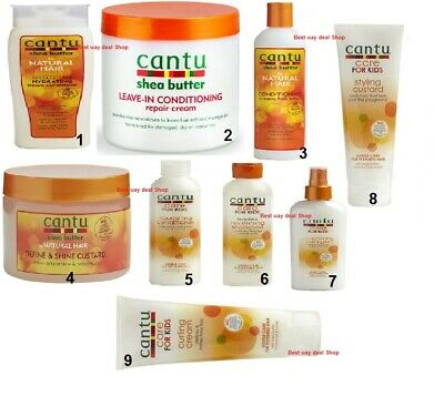 £8.99 • Buy New Cantu Shea Butter & Natural Hair Care Afro Hair Product Uk Stock