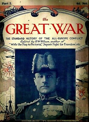£14.20 • Buy The Great War Wwi Article Magazine St History Of All Europe Part 2 By H.w.wilson