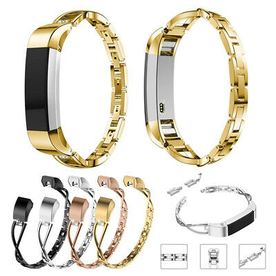 AU9.63 • Buy Metal Band For Fitbit Alta HR Replacement Stainless Steel Band Strap Wristband