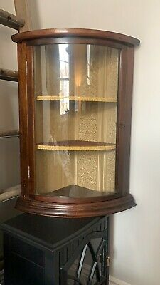 £45 • Buy  Antique Curved Mahogany Wall Cabinet