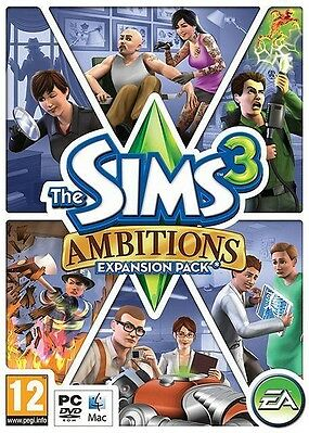 £4.19 • Buy PC MAC DVD Game - The Sims 3: Ambitions Expansion W/ Serial Code