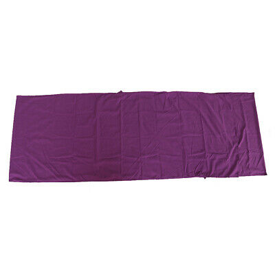 £20.94 • Buy Portable Cotton Sleeping Bag Sack Liner For Traveling Camping Hotel Purple Color