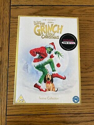£4.99 • Buy Dr. Seuss How The Grinch Stole Christmas HMV Christmas Collection Slipcover