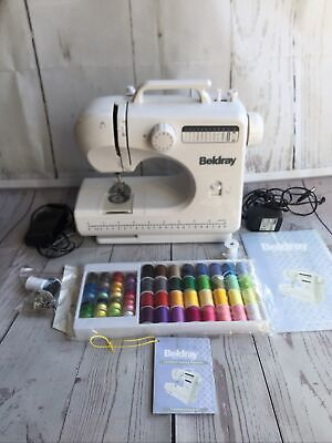 £45 • Buy Beldray 12 Stitch Sewing Machine With Foot Pedal & Extras
