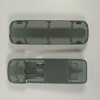 £5.49 • Buy Xbox 360 Official Outer Case Shell Replacement Top And Bottom Grills Black