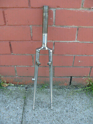 £30 • Buy Vintage Touring Chrome 700c Steel Forks Campanolo Drop Outs
