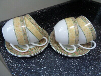 £30 • Buy Wedgwood Home Florence Breakfast Cups And Saucers X 4
