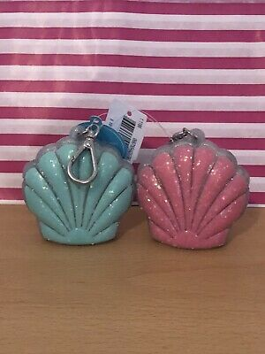 £20 • Buy Bath And Body Works Shells Keyring Holder Green Pink Set Of Two