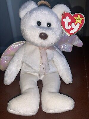 £200 • Buy Rare Ty Beanie Baby Halo With Brown Nose August 31st 1998 Tush Tag Number466.