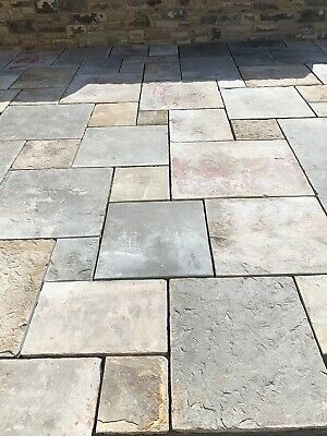 £40 • Buy RECLAIMED YORK Stone Flags/ Slabs Won't Be Beat On Price /from £40-65 A Sq Yd !!