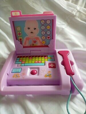 £10.50 • Buy Baby Born Medical Laptop Sounds And Batteries And 3 Xray Cards Zapf Creations