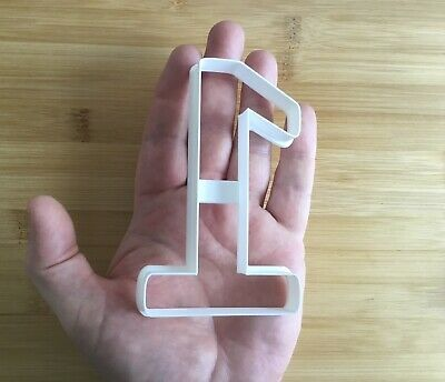 £3.75 • Buy Number 1 Cookie Cutter. Biscuit, Pastry, Fondant Cutter