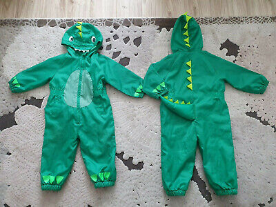 £20 • Buy Twin Boys Matching 18-24m 1.5-2 Years Puddle Suit Rain Suit All In One Dinosaur