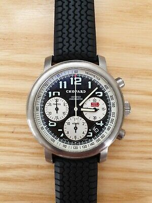 £2000 • Buy Chopard Mille Miglia 2000 Chronograph Watch 40mm  Rubber Strap With Box & Papers
